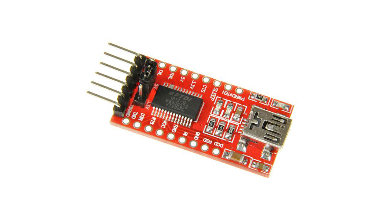 A UART to USB mini converter